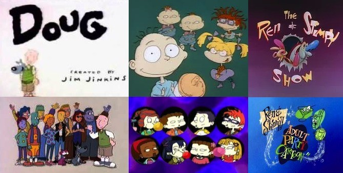 Nickelodeon's Original Three. .. I made this in honor of Nickelodeon's Original three turning 25 on August 11th. I grew up on these 3 cartoons!