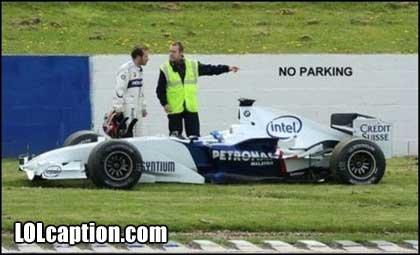 No parking. No exceptions!.