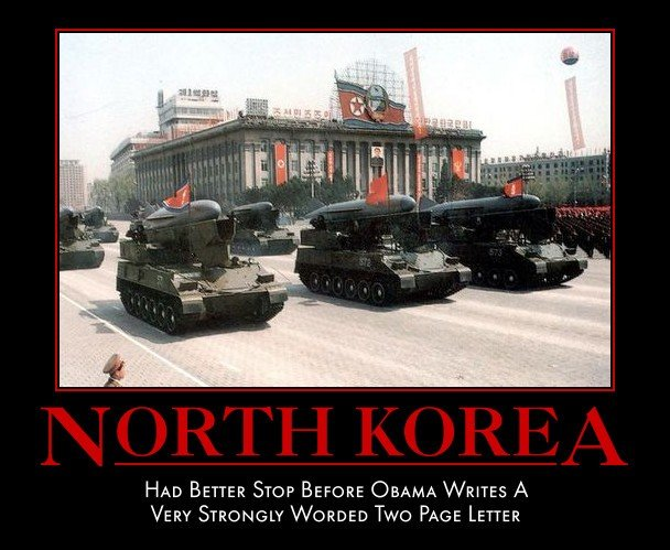 North Korea. . HAD BETTER STOP BEETTER 'DRAMA WETTER A VERY STRONGLY WARDED Two PAGE LETTER. this. is. FUUNNYYYY!!!