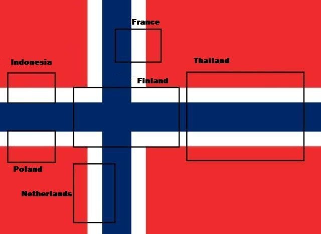 Norway. Not mine, saw it a while back and thought it was awesome!.. Fixed