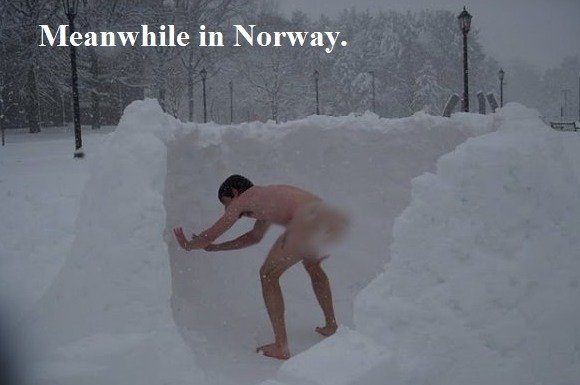 NORWAY. .. This is what we Norwegians do every day to honor our previous generations.