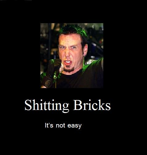 not easy. chad gray from mudvayne.