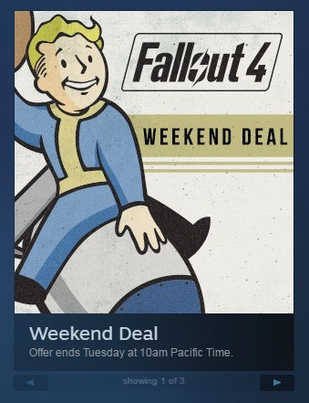 "Nuclear Simulator - Half Price.. Anyone else think it was particularly funny that Steam is selling Fallout 4 on sale? ""Step right up, step right up and gra"