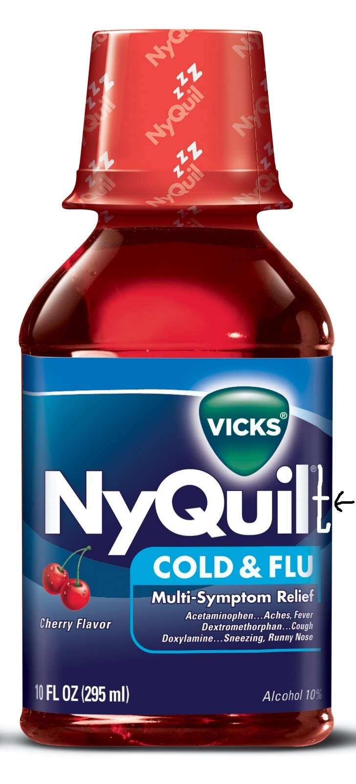 Nyquil Meme OC. One of my more complex memes. Your average bottle of NyQuil does NOT end with a T. Was this specific bottle not content without having a T? Did