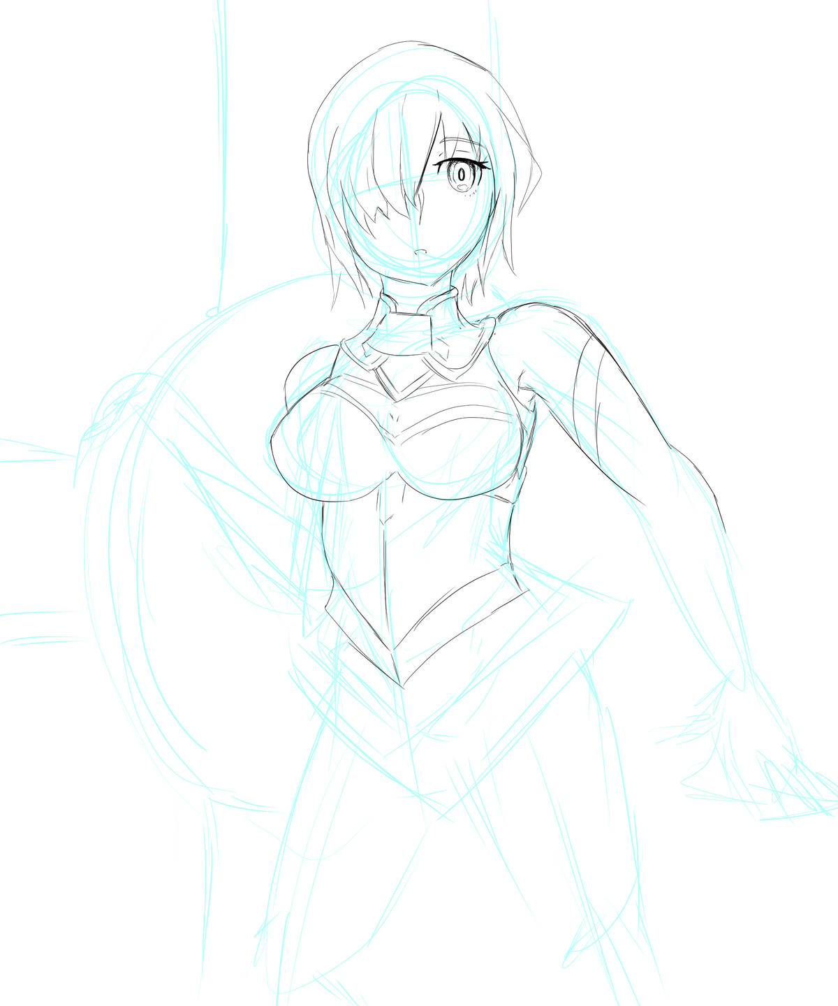 Mash WIP. Considering I've basically never drawn her before I think i've nailed it join list: GBArt (261 subs)Mention History.. face > nice boobs > pretty good It's already a sucess!Comment edited at .
