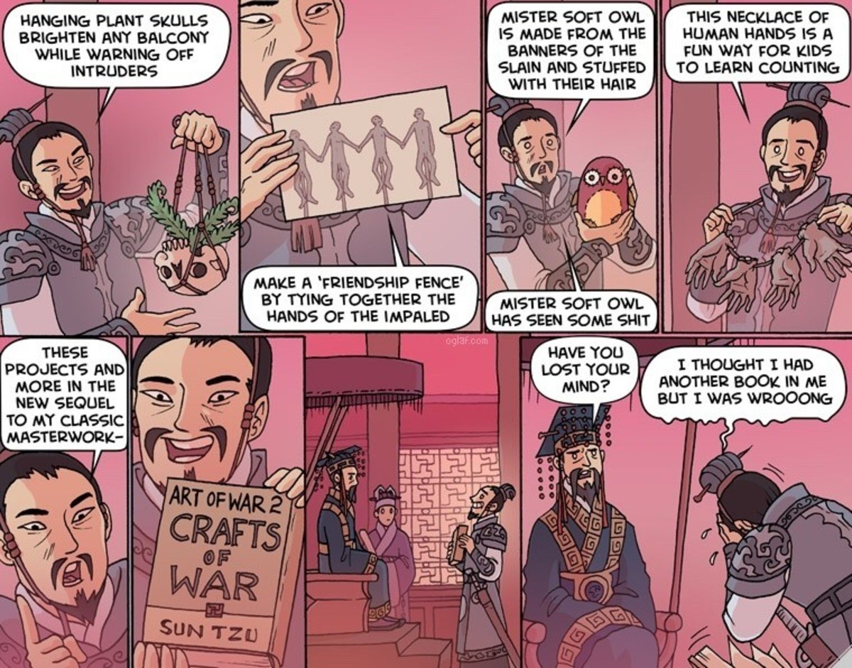 Oglaf / Upcycling. join list: OglafComics (211 subs)Mention History I can't find this on the archive list so not sure about the title... I would very much like to read this book