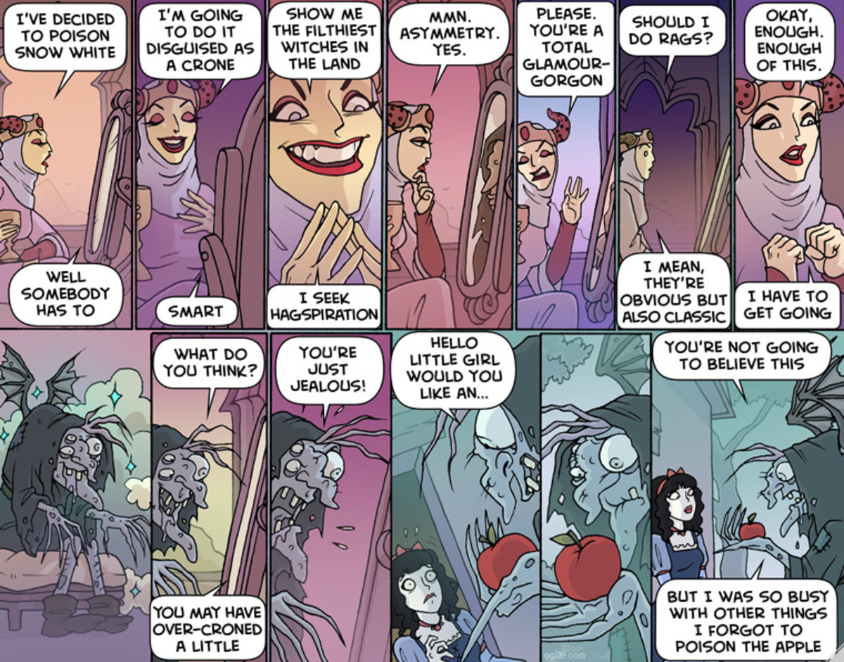 Oglaf / Warts. Well at least i'm not the only one who's getting forgetful. join list: OglafComics (214 subs)Mention History..