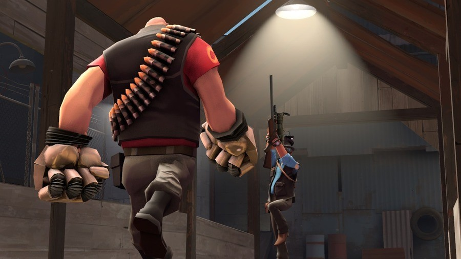 """""""oh? you using scripts?"""". .. but he will just instakill the heavy with jarate + bushwacka."""