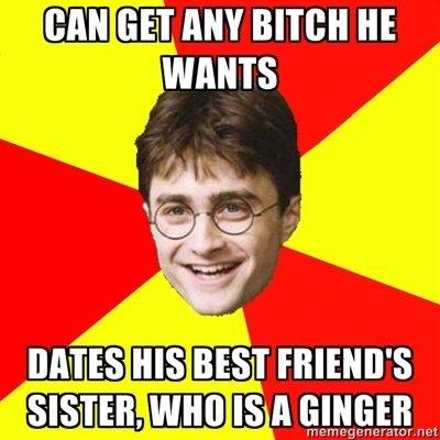oh Harry. A wild description appeared!. lalegf, an mu mien HE