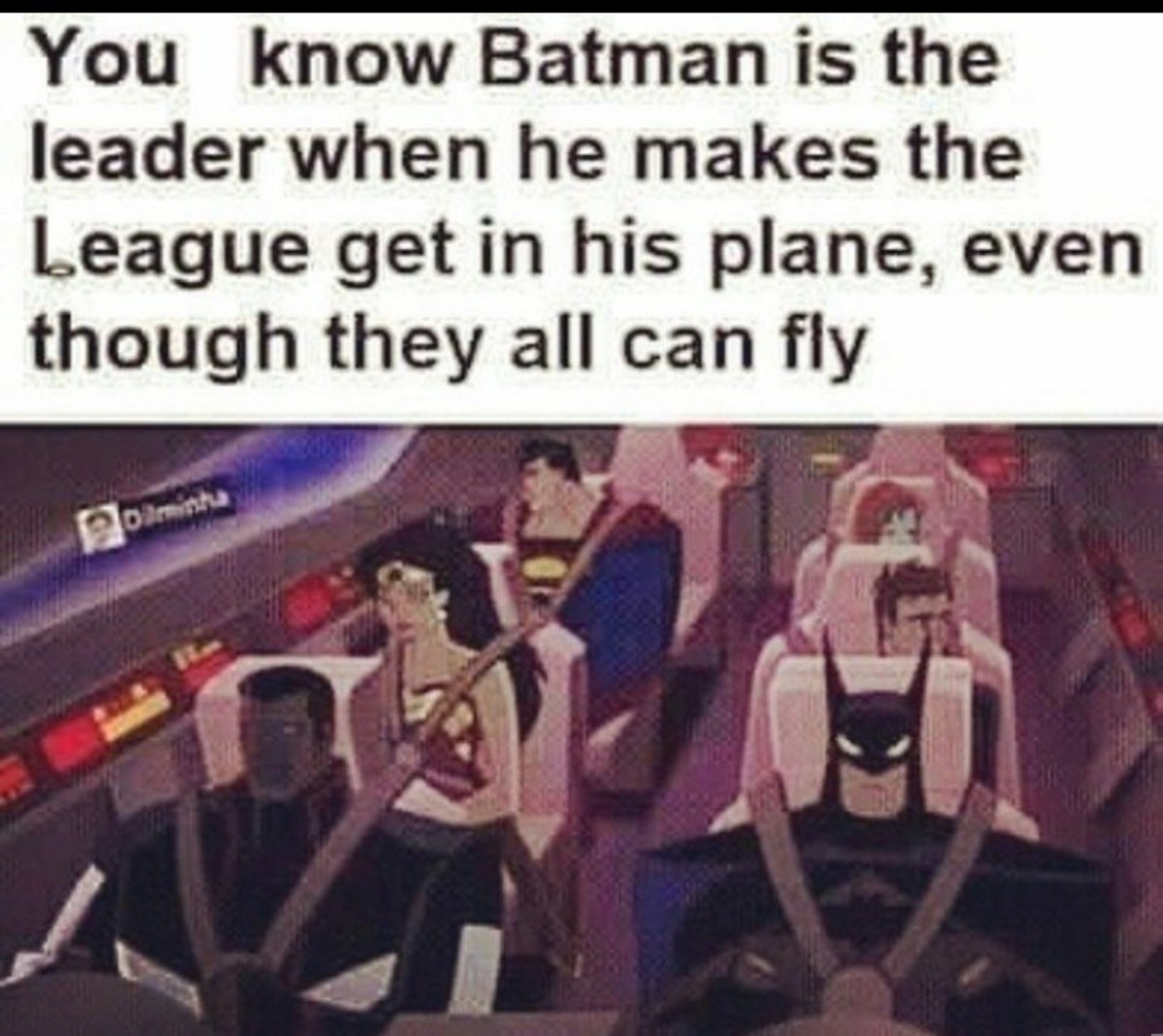 """Old But Gold. .. I think they used the jet for space travel aswell In this version, superman can't """"breathe in space"""", so it kinda makes sense"""