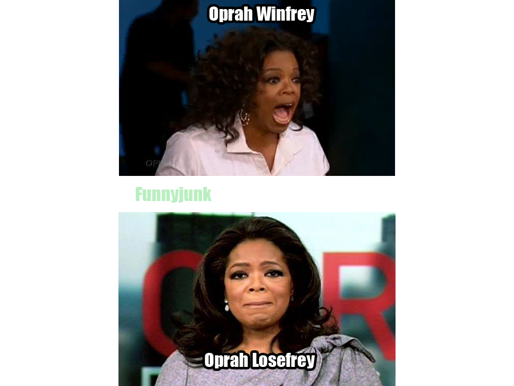 OPRAH. I saw this picture going differently in my mind.. Blah