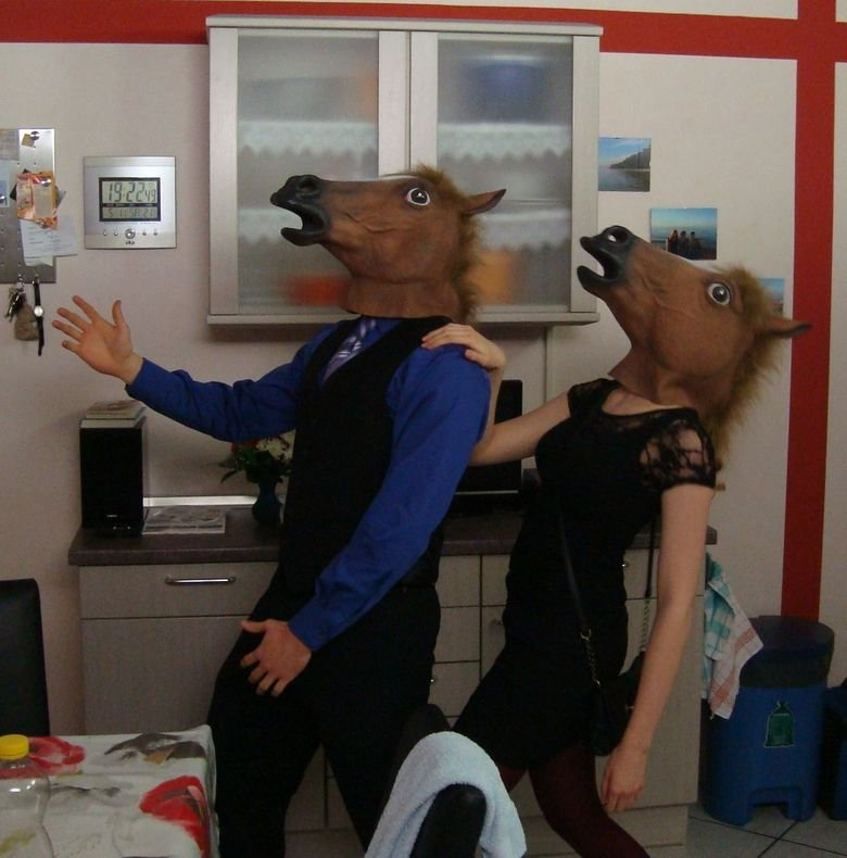 our halloween costumes. ... as sarah jessica parker... Nice!