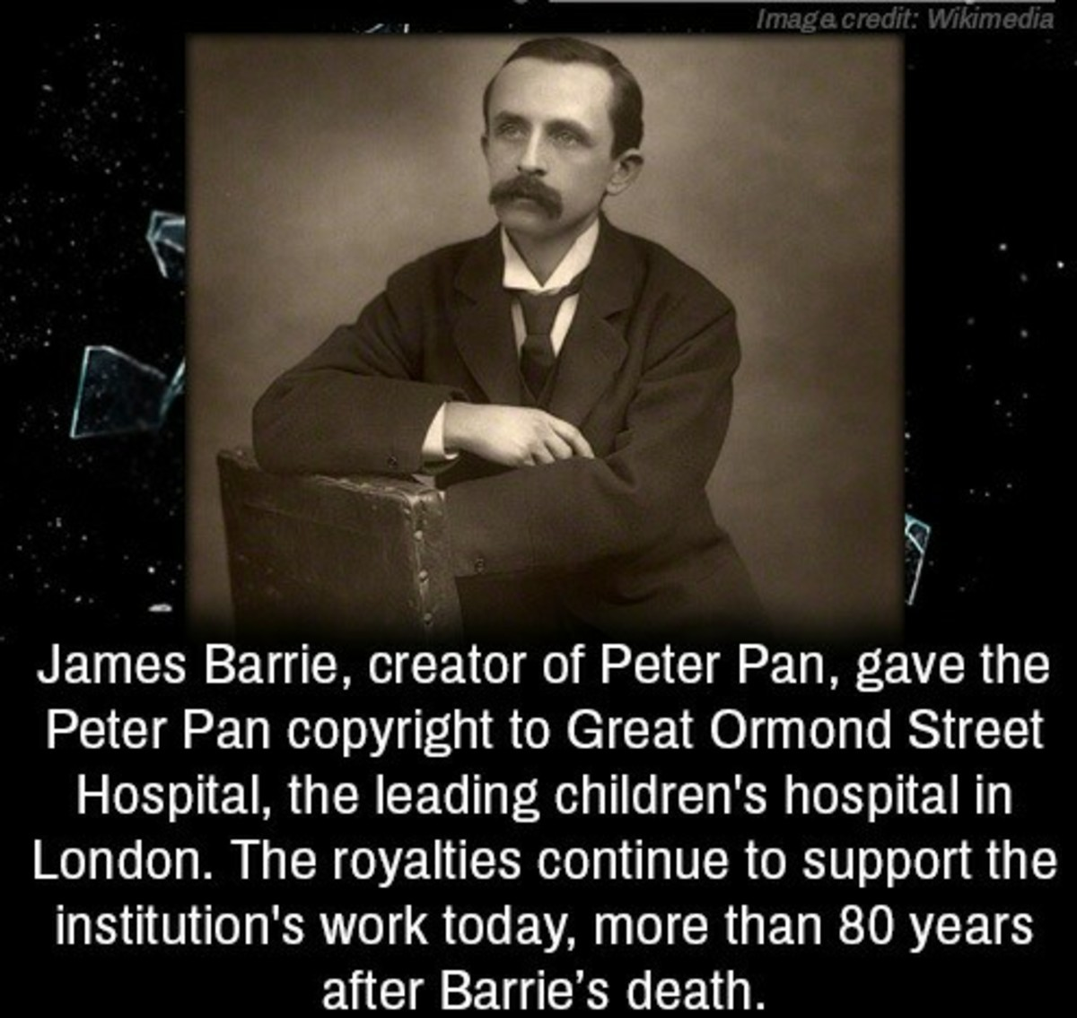 pan good guy. .. That explains the lack of Peter Pan movies.