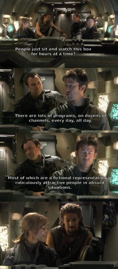 """panicky strained Quail. .. Funnyjunk: """"Screenshots of TV shows are not content"""" Also funnyjunk: """"oh look Stargate cool"""""""