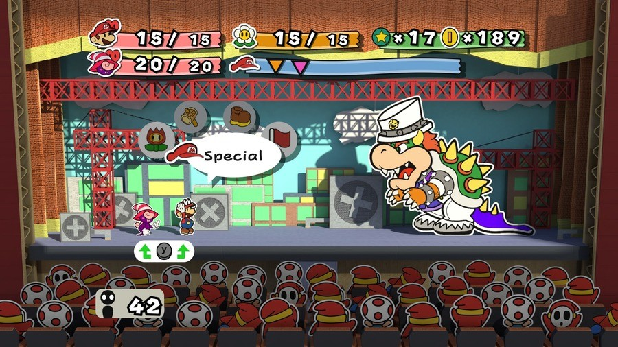 Paper Mario Odyssey. Not mine... >Paper mario is never going back to it's TTYD roots