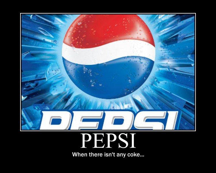 The Only Good Cop Isdad Pepsi Sucks Anyway