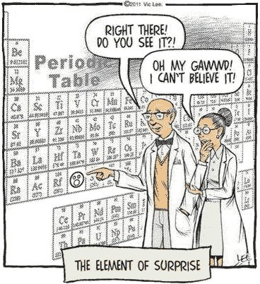 Periodic table. If you want more funny posts like this then don't be afraid to send me a friend request and / or subscribe. Also I'm trying to beat phanact to t