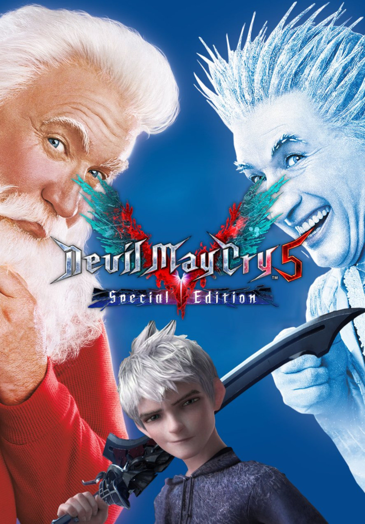 pick it up for the holidays. .. I like how Nero always defaults to jack frost in these memes