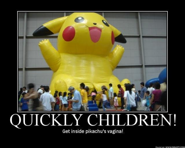 Pikachu. .. holy crap how many times has this been reposted?!