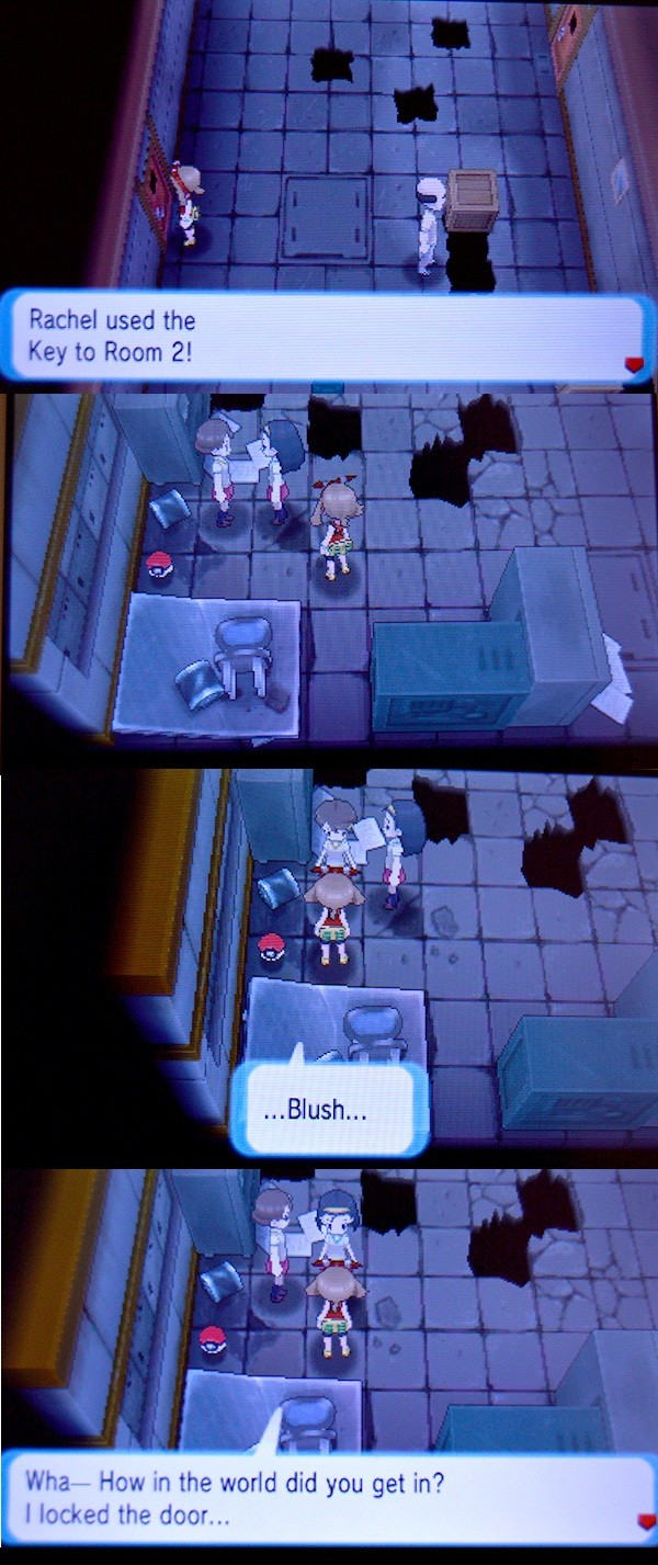 Pokemon on gayness. Sorry I can't find a better screencap. Rachel used llooll, l, h' lard. HUN in the weed did we get in? I leaked the deer.... >Interrupting girls doing gay things at each other This is punishable by death I think.