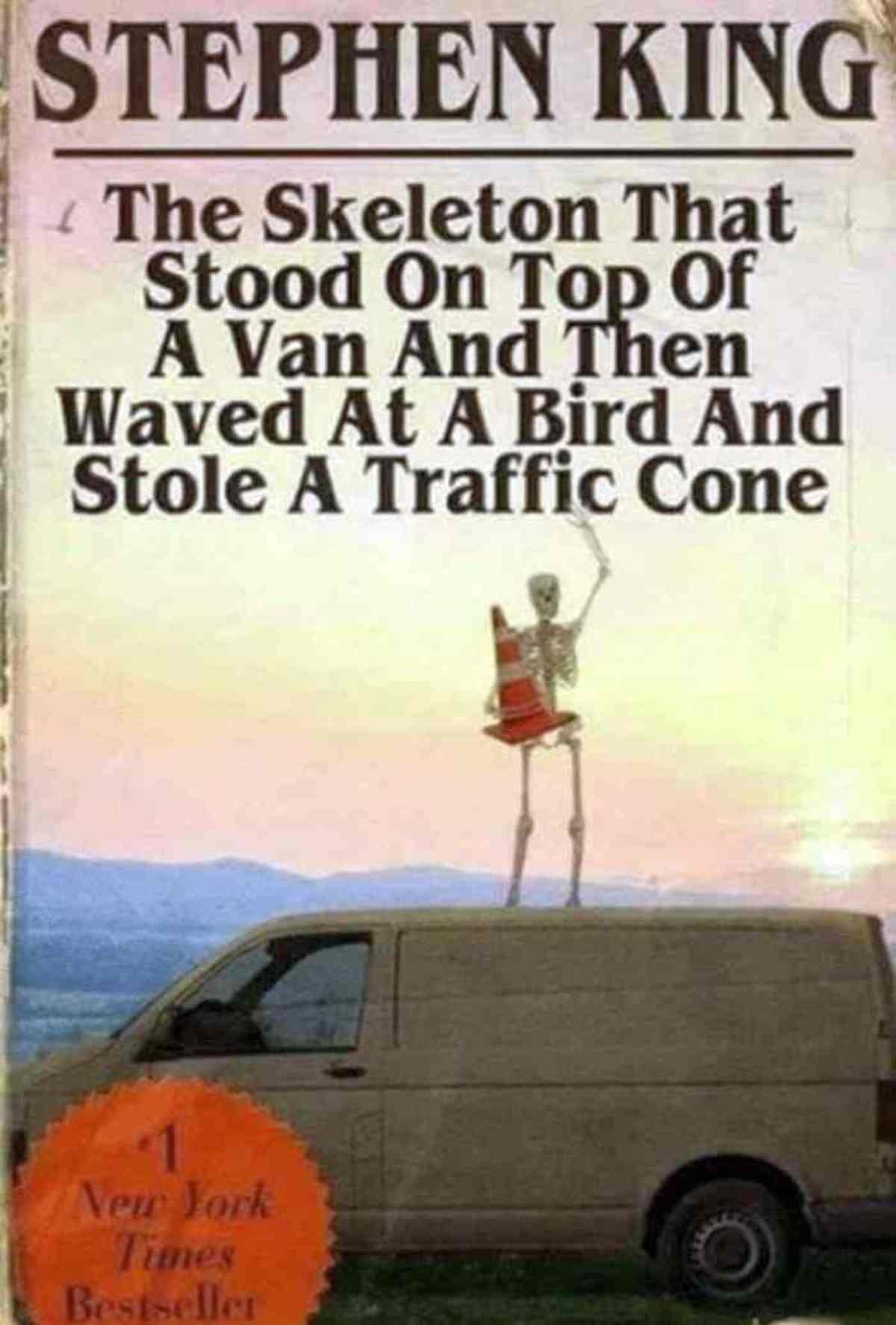 "Post-skeleton war vacation. join list: BONEZONE (702 subs)Mention History.. ""The spoopiest SK novel yet"""