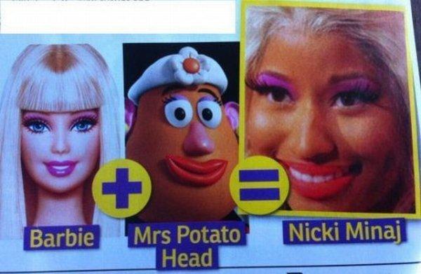 Potato Barbie. maybe a repost.