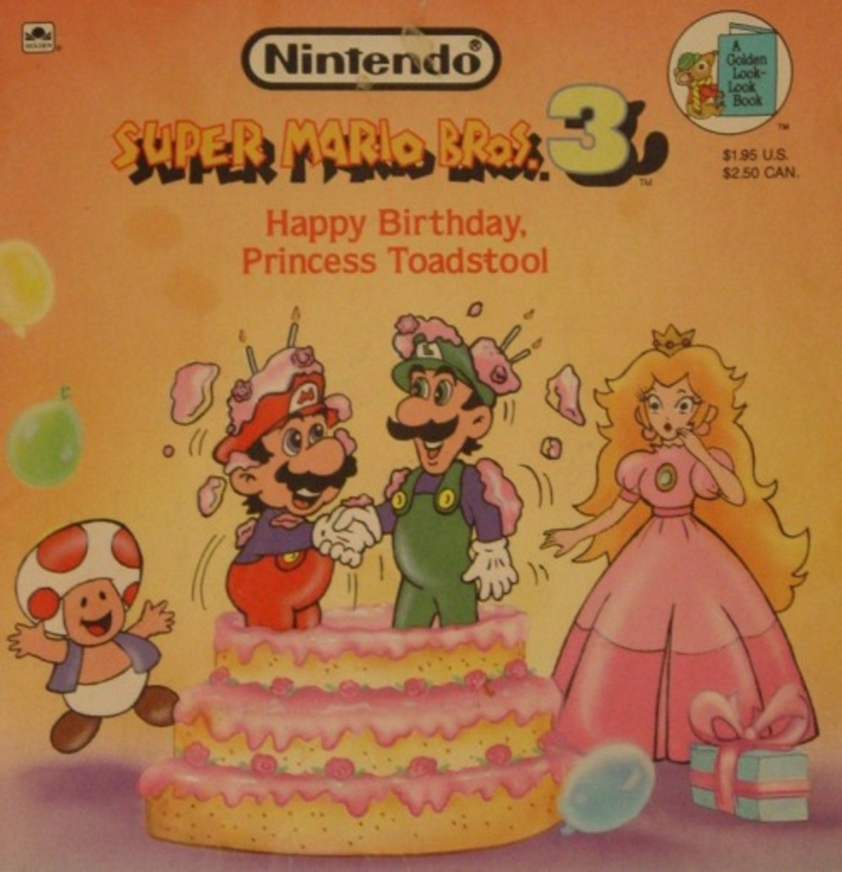 Princess Toadstool's Birthday. .. Holy the Super Mario kids books are taking me back to 1st grade silent reading.