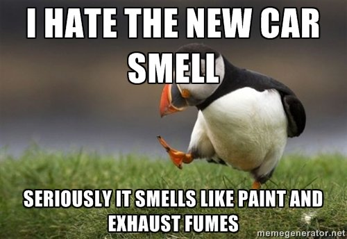 puffin thing. I tried. I HATE THE NEW [Hill. new book smell is the best