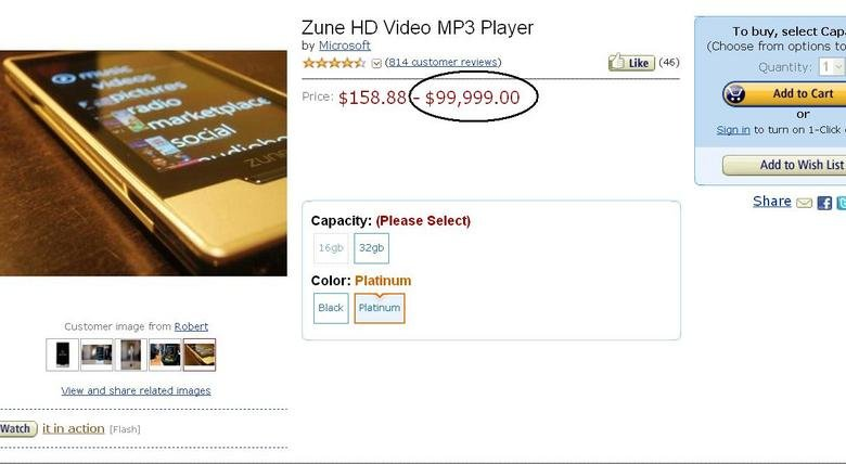 Quite The Price Range. NOT SHOPPED, and OC. Ame Video MPA Player l To buy, selectivly Sign ltr; to turn er: , Add to Wish List Share :21 El E Capacity: (Please