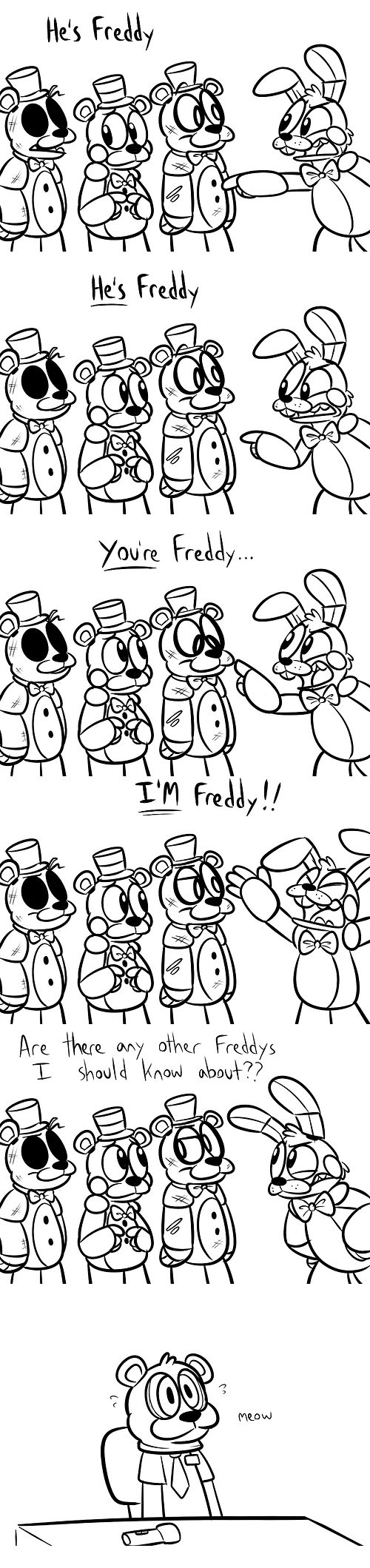 R u ready 4 freddy?. Because i sure don't. Ire bu, of') ogr- Frills. In a dream that I had, I got ultra gang-banged by Freddy and Foxy. It wasn't rape, I enjoyed every second of it. Then I realised that it wasn't a dream.