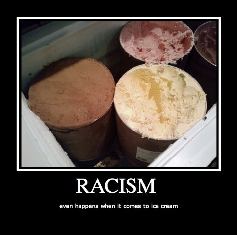 racism. racist ice cream<br /> EDIT yay this helped me get to level 4 rage guy thanks all u cool ppl who thumbed<br /> thanks a ton guys this shot m