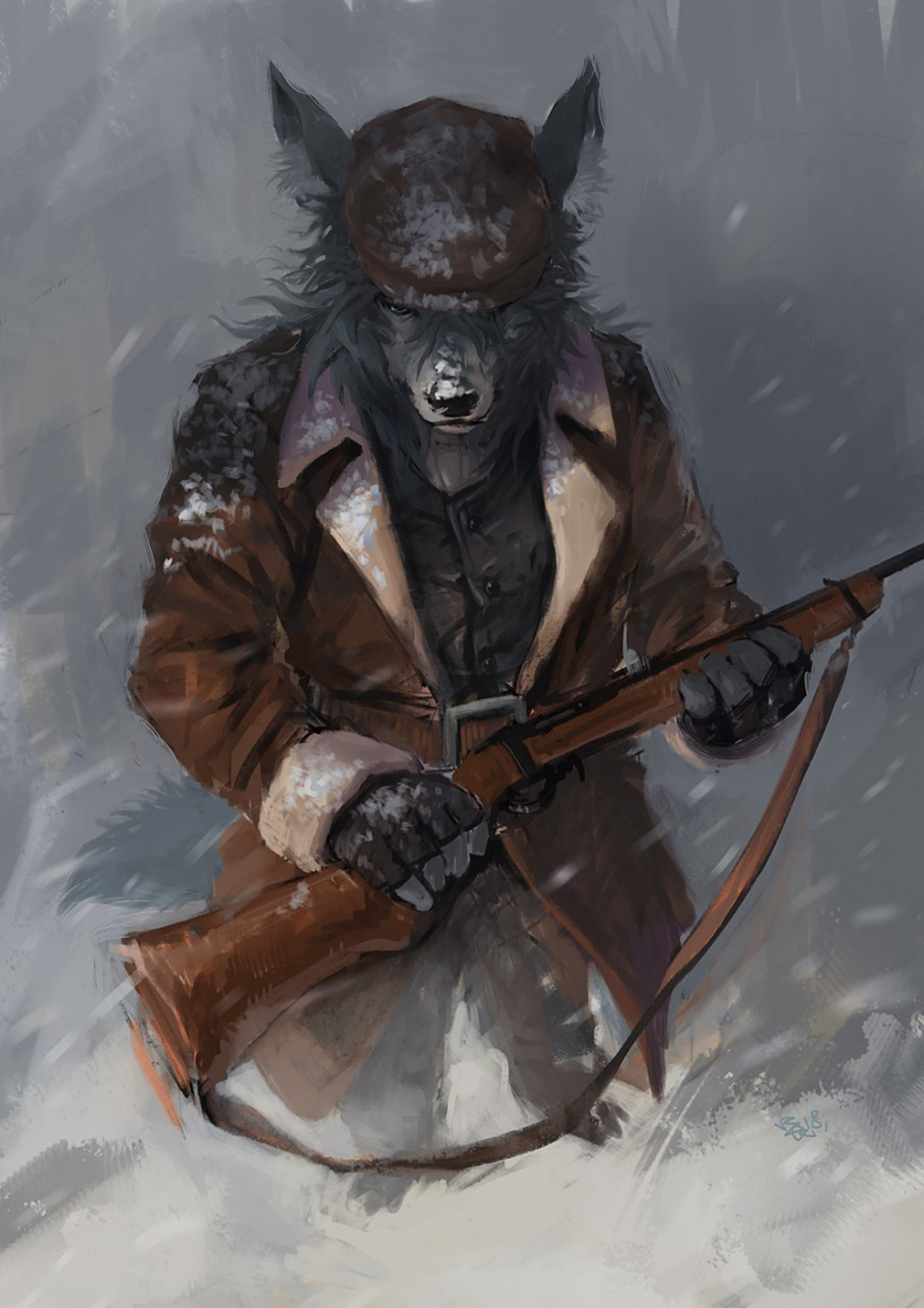 Racoonwolf . Edition 149 of Furry Art You Could Show Your Friends. Today's featured artist is Racoonwolf, a Taiwanese artist with a somewhat neo-i
