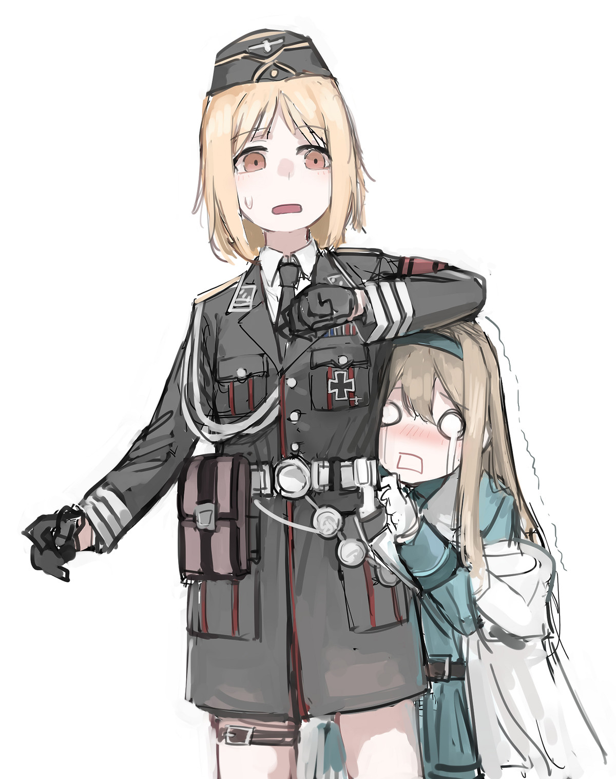 random tag, iron cross. join list: RandomTags (30 subs)Mention History join list:. Hmm, I just realized that people might start screeching at Nazi anime girls in the future. Welp, let's enjoy it while it's still quiet