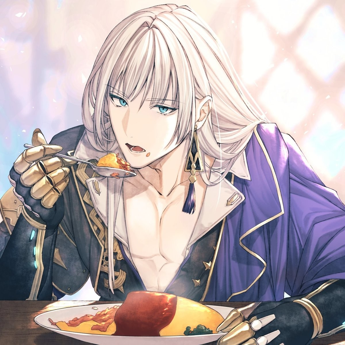 random tag, omurice. join list: RandomTags (30 subs)Mention History you ever have it where you're actually really interested in a setting but you don't really c