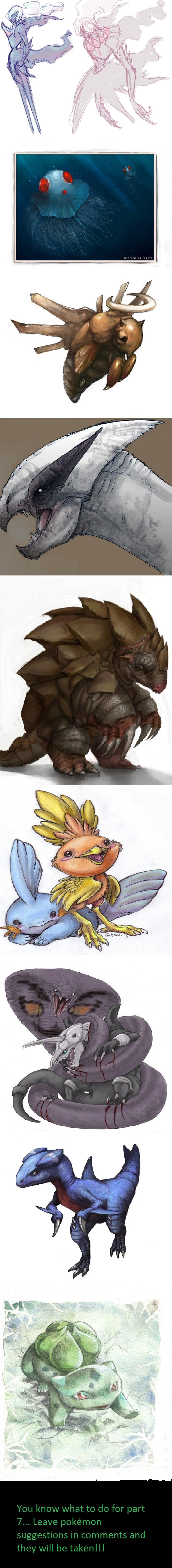 "Realistic pokemon drawings part 6. Part 5 is here and links to 4-3-2-1 on same page! <a href=""pictures/1523474/Realistic+pokemon+5/"" target=blank&g"