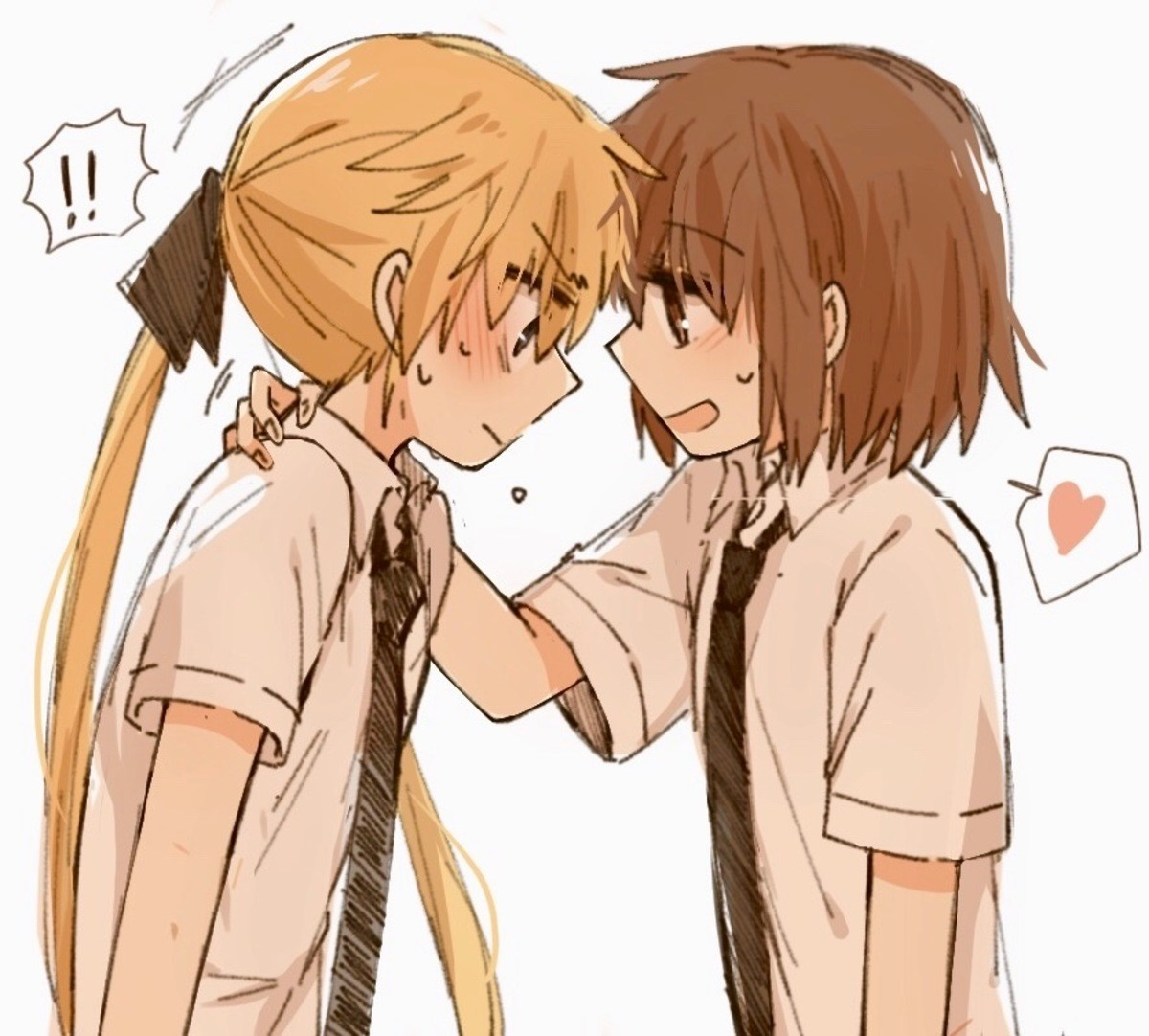 recognize them?. .. Kill Me Baby Don't remember their name, just the animu. Was cute and gay.