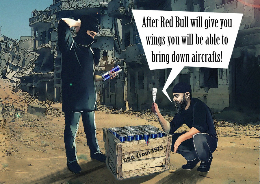 Red Bull helps. . After Red Bull will (,, you wings you Wm be able to bring down '