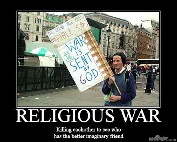 Religion. Dumbest yet most ingenious invention ever..