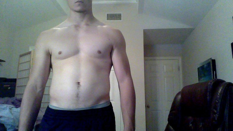 Remember me?. I said I was going to diet for a month, and it's been just that. I wasn't all that strict, but it's a start. Here are the befores, and below are t