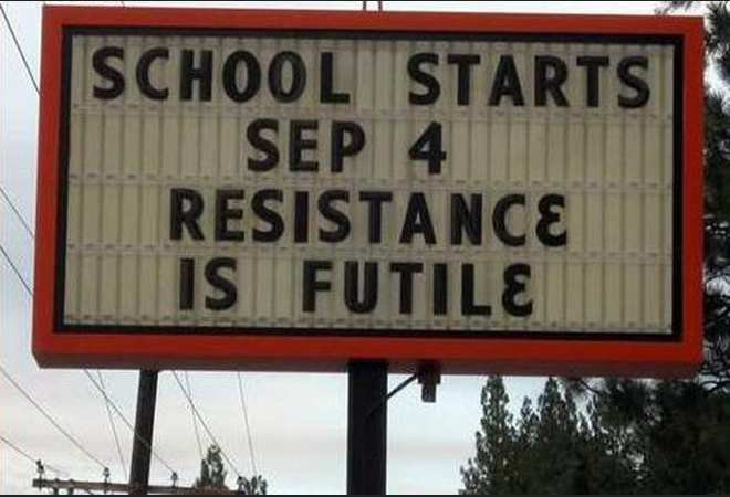 resistance is futile. if less than 1 ohm.