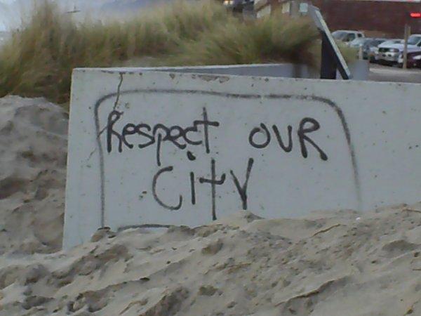 Respect. .