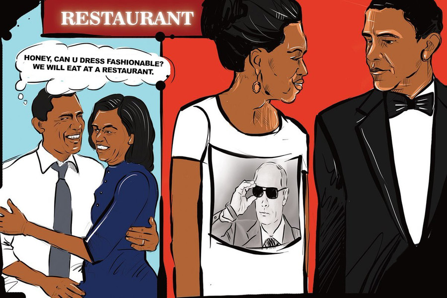Restaurant and fashion. .