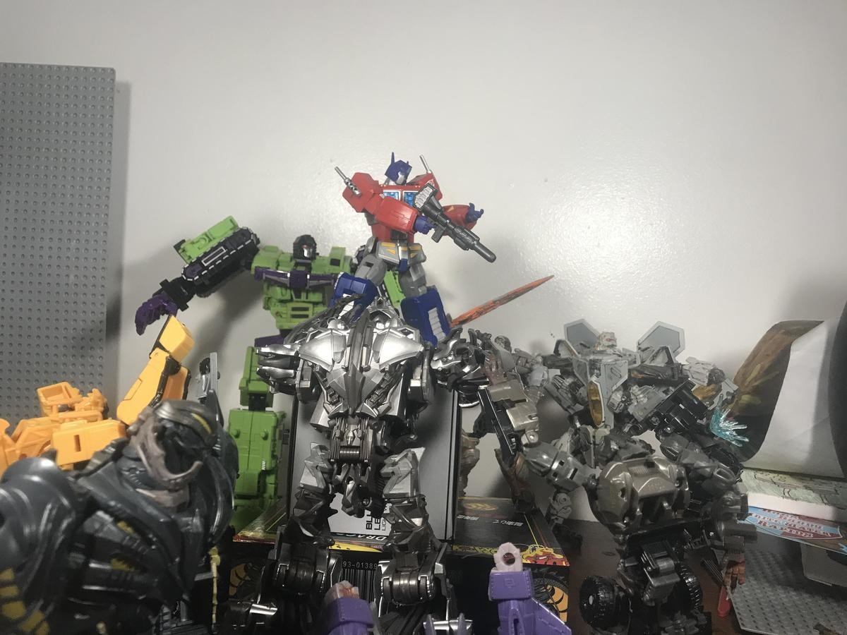 Rip and Tear. .. Devastator alone could end him.