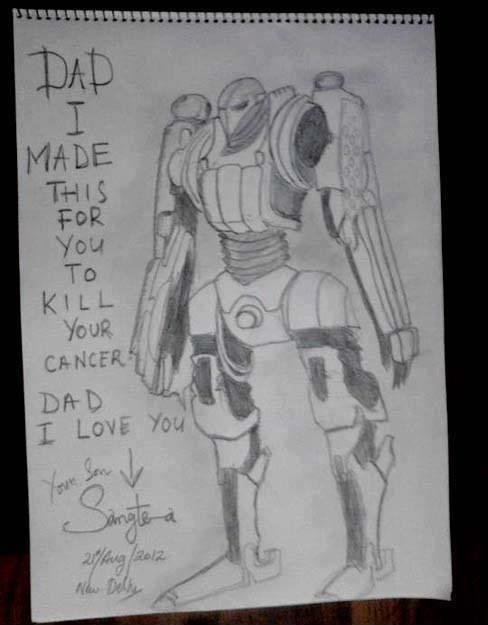 Robo Feel. When i saw this it gave me the biggest feel i have experienced yet :'(.. Die, cancer!