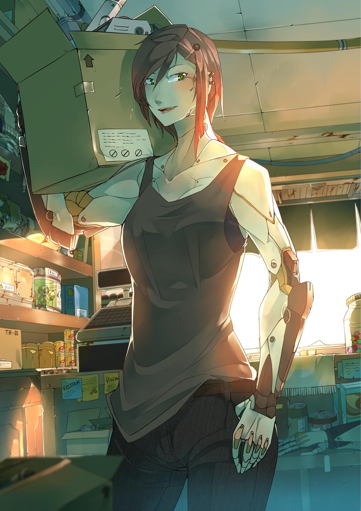 Robo/Cyborg chicks. Where flesh fails, machine prevails - ..
