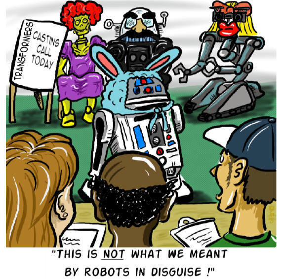 Robots in disguise. Be sure to subscribe so you can catch all the comics!<br /> If you want to see a whole lot more of our crazy ass comics just follow th