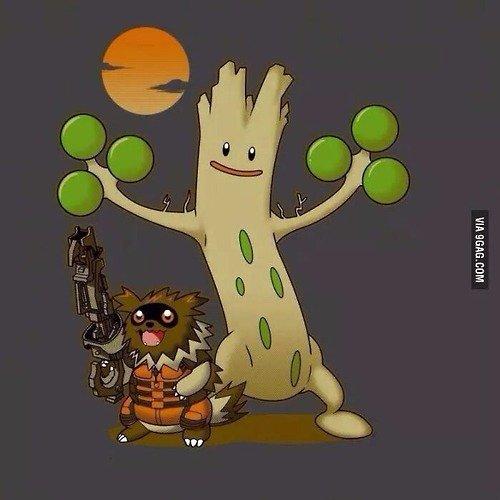 Rocket Zancoon. .. I love these pokemon crossovers.