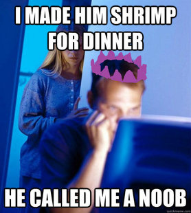 runescape. .. That moment when shrimps don't exist in RuneScape anymore.