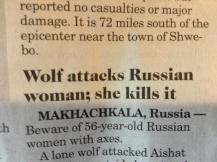 Russia, u so silly. Why are you so weird, Russia?. reported no casualties; or . dapat, It is 72 miles south of the epicenter near the town of Shwa- tro. Wolf at