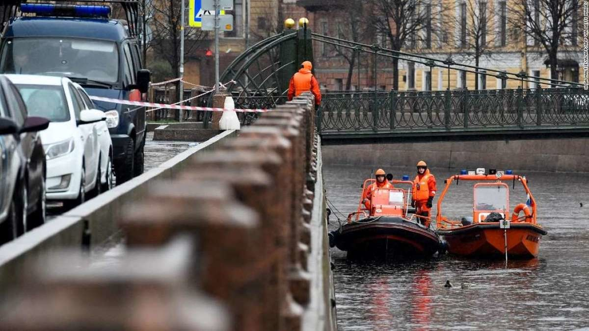 Russian Professor Pulled Out Of River Carrying 2 Severed Arms. Investigators opened a criminal case after the man was pulled out of the Moika River, a waterway